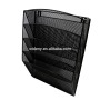 Office supplies folder wholesale tool mail iron wire metal mesh wall mounted hanging file document wall organizer manufacturer