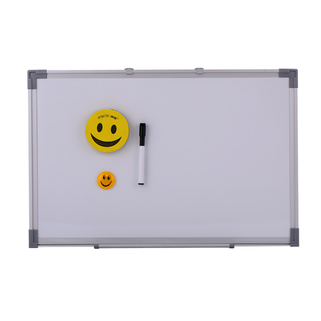Portable Interactive Wall Sticker Desktop System Silver Aluminium Frame Retractable Rollable Whiteboard for School