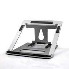 WIDENY Ergonomic Portable Home Office Desktop Adjustable Folding Aluminium Laptop Stand for Home Working Book Phone Desk Holder