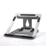 WIDENY Ergonomic Portable Home Office Desktop Adjustable Folding Aluminium Laptop Stand for Home Working Book Phone Desk Holder