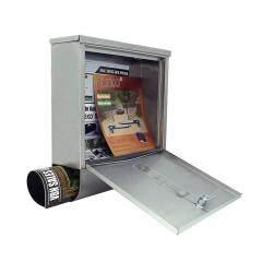 Amazon Hot Sale Modern Waterproof Custom Made Stainless Steel Post Mounted Solar American Door Mailbox