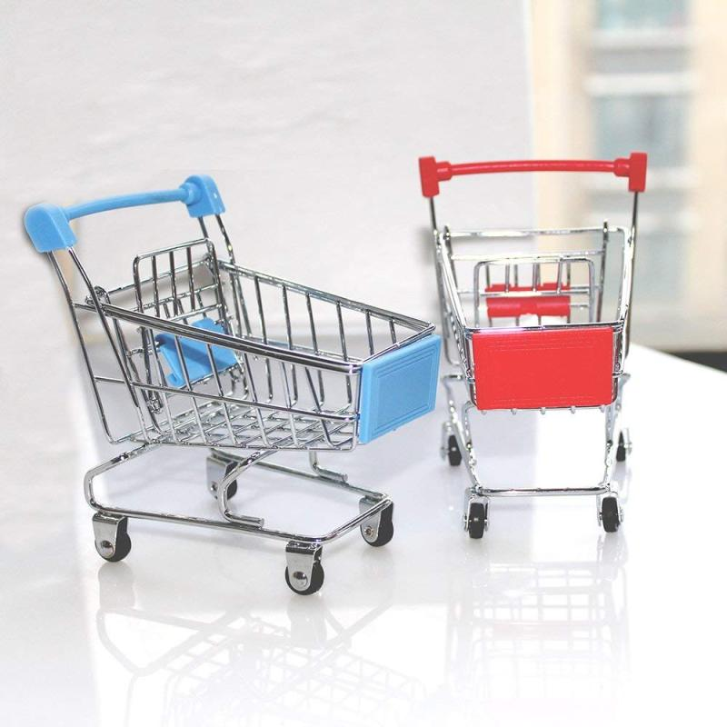 Amazon Hot Sale Stylish Unfolding wholesale Handle Luggage Baby Seat Rolling Folding Shopping Trolley Cart with Wheels