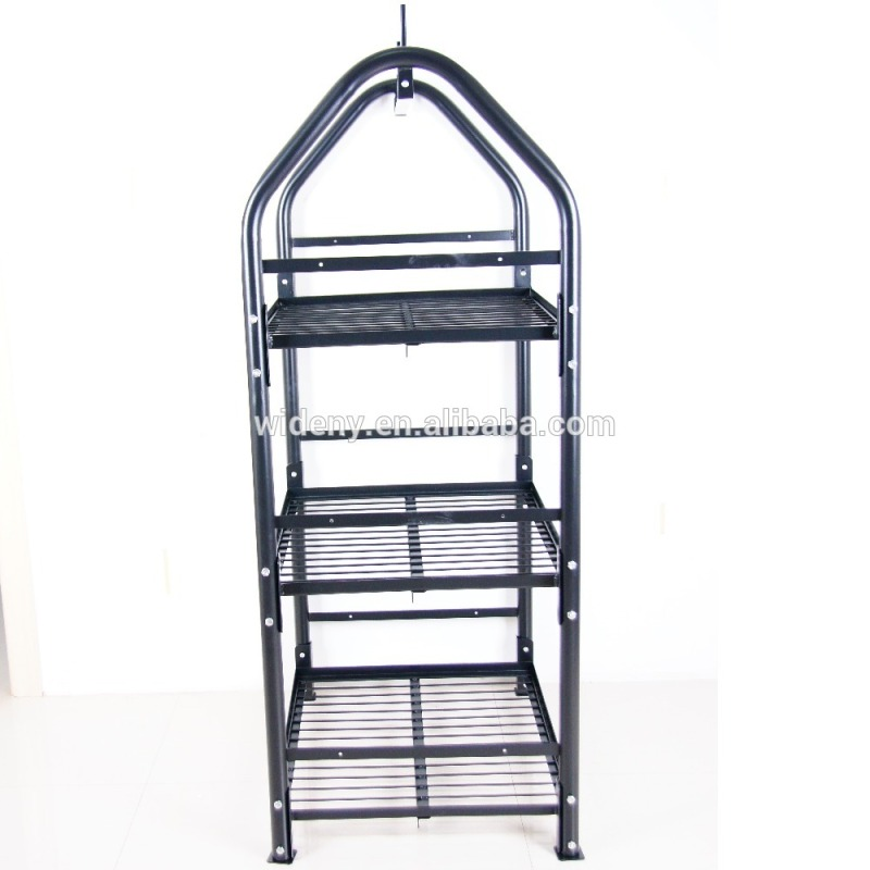 Flooring customized vinyl roll bread candy food gum cookies display wire metal rack
