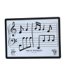 interactive magnetic memo lap dry erase stave music teaching white board for kids students
