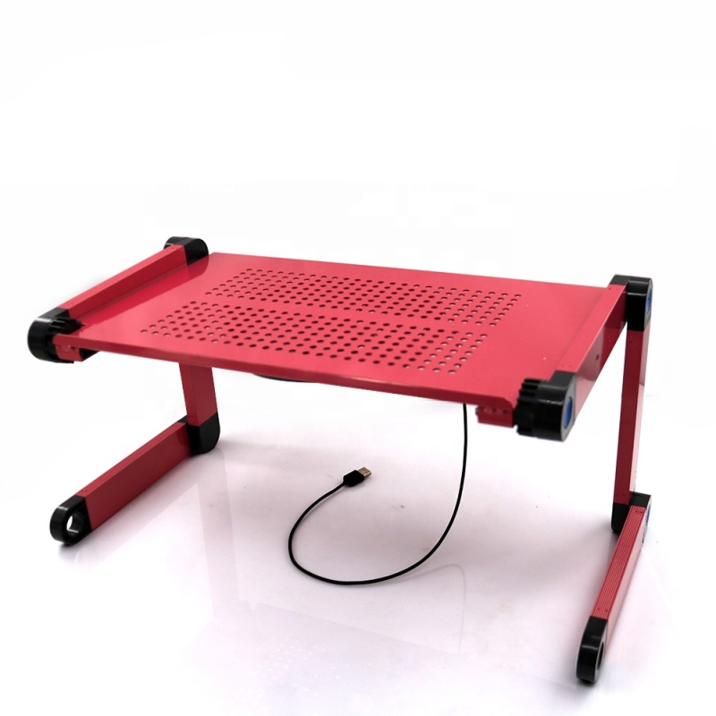 High Quality Light Weight Ergonomic TV Bed Lap Tray Stand adjustable laptop table