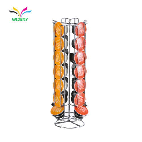 powder coated cnespresso rotating pods wall mounted capsule holder