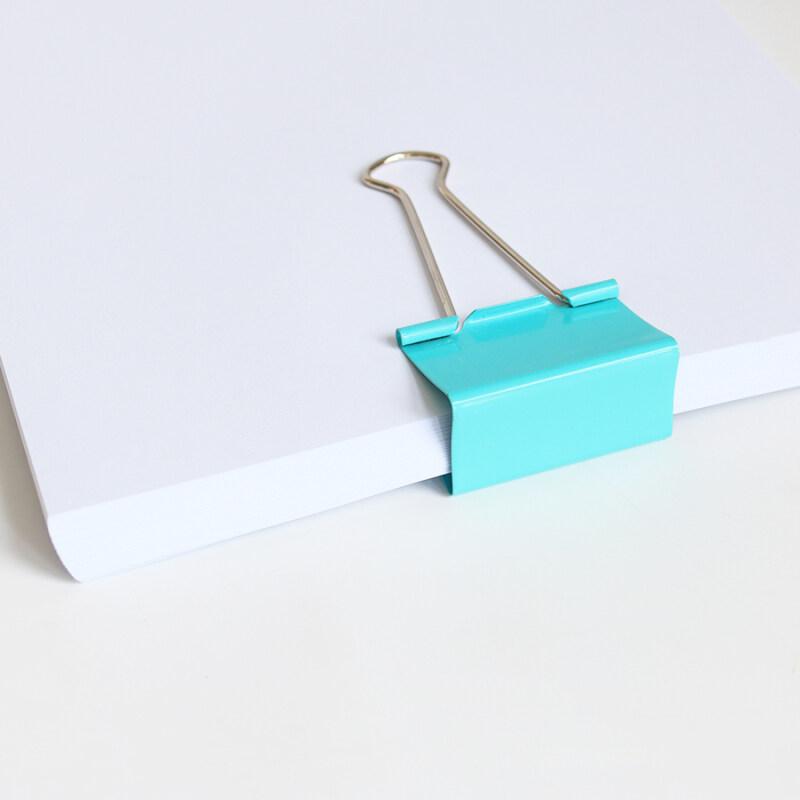 Custom Folder Designer 41mm Multiple Color Large Metal Paper Clamp Binder Clips