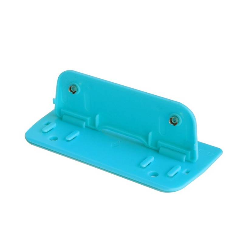 Customized Eco-friendly desktop Blue Multi functional metal Aluminum Alloy Feature Euro Hole Punch