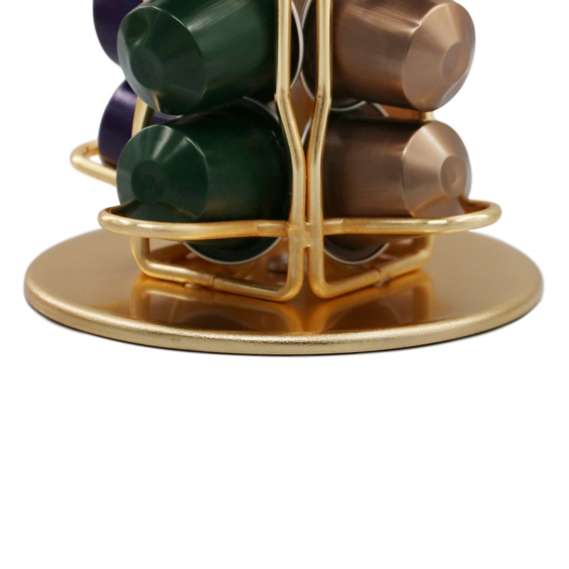 Rotating Coffee Capsule Rack Organizer nespresso capsule holder for Home and Office