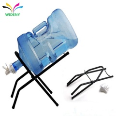 Counter Home Use Free Valve Water Jug Dispenser Folding metal tube water 5 gallon bottle rack for gallon water stand