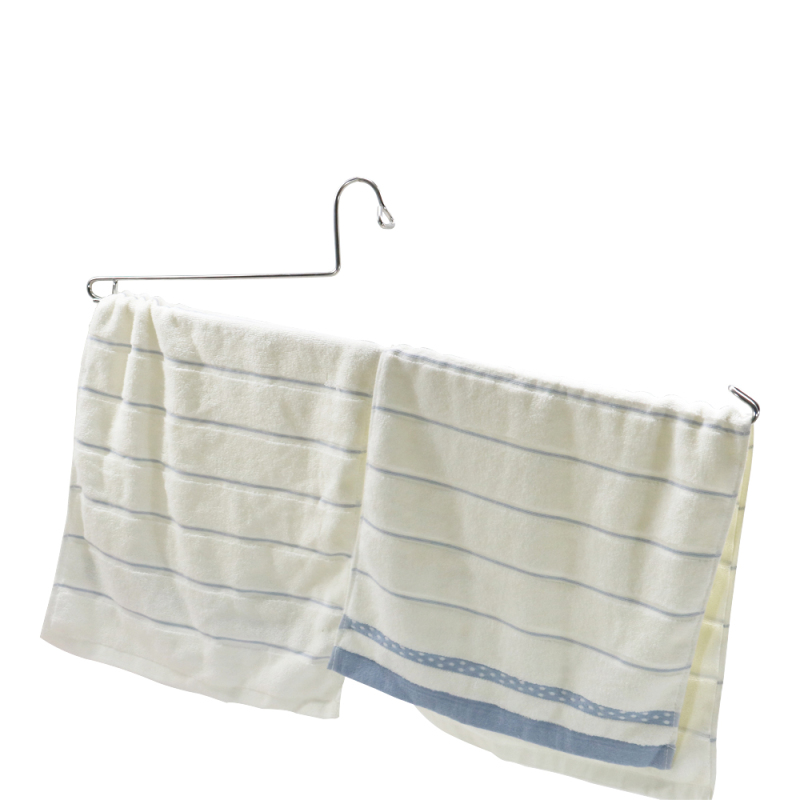 Heavy Duty Good Quality Heavy Load Single-sided Opening Thin Cloth Hanger for Towel