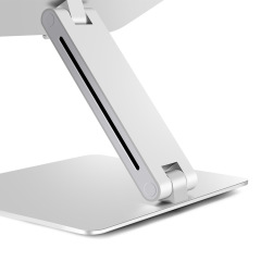 Portable Laptop Stand, Aluminum Foldable Holder Adjustable Height Aluminium Alloy Laptop Stand Adjustable Laptop Desk