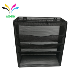 Wideny office wire metal mesh wall mounted hanging file organizer