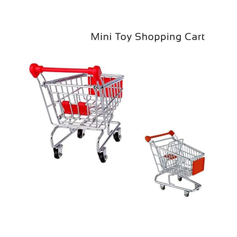 Manufacture Direct Sale Portable Cover Baby Promotional Mini Luggage Trolly Shopping Cart 4 wheels