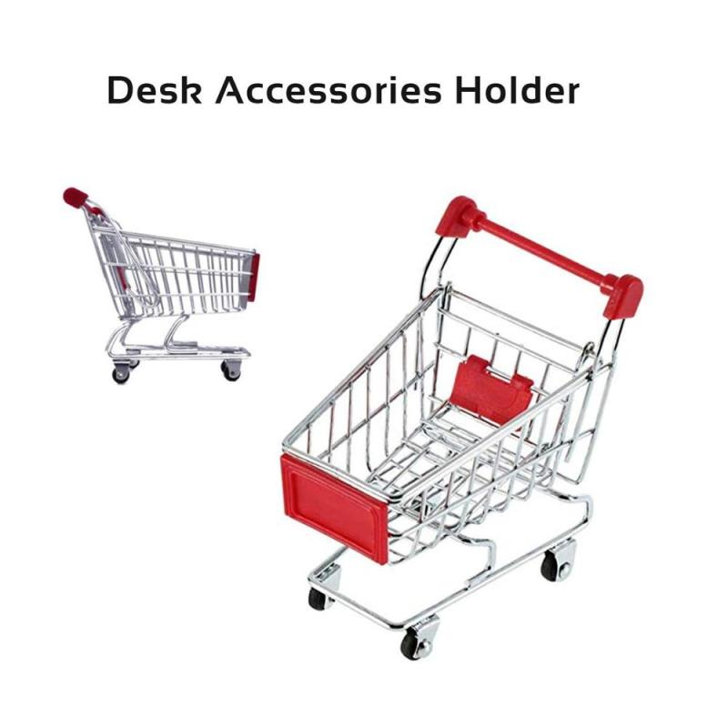 Amazon Hot Sale Mini Grocery Rolling Folding Replacement Wire Baby Toy Supermarket Trolley Shopping Cart