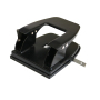 Novelty Office Custom Manual Rectangular Metal 9 Hole 5mm Paper Small Hole Punch Sizes for Notebook Puncher Tools