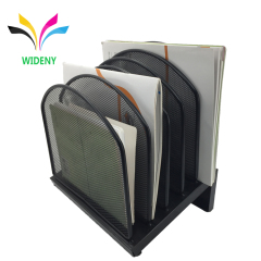 Wideny 5 layer office desk table wire mesh metal document file organizer