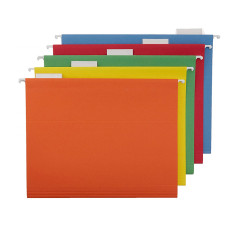 A4 student Colorful Smooth Edges Handmade Cardboard Paper Pocket File Paper Folder for Filing Products