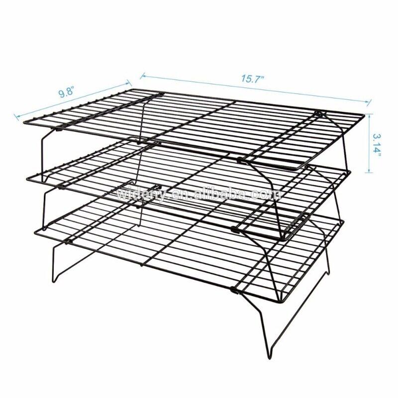 Widney bread display food cookie candy wire metal steel stainless steel grid baking bakery cooling rack