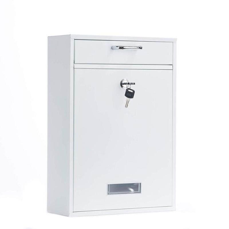 High Quality Wrought Iron Metal Wholesale Wall-mounted Modern Galvanized Sheet Waterproof Mail box