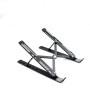 Amazon Desktop Adjustable Ergonomic Aluminum Ventilated Cooling Laptop Stand for Desk Lightweight  Tray Mount Compatible