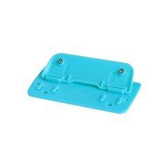 Customized Eco-friendly desktop Blue Multi functional metal Aluminum Alloy Feature Euro Hole Punch