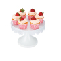 Free sample Wideny powder coated wire metal cake stand stainless stand decorating cupcake bread stand wedding party