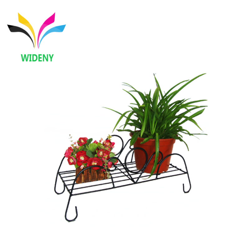 Garden indoor decoration customized metal wire plant stand