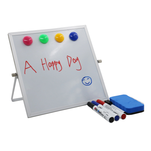 Wholesale Office Desktop Digital Square Double Sided Children Mini Magnetic Interactive Whiteboard