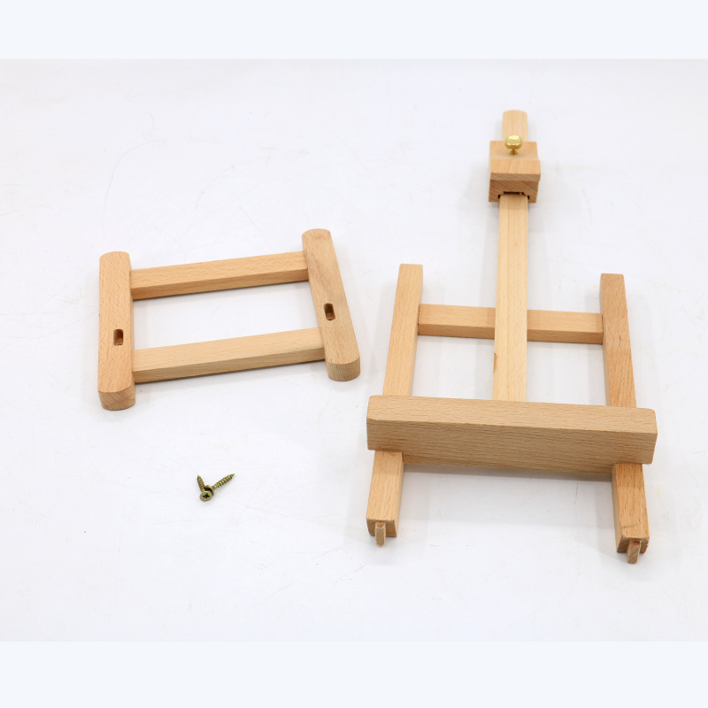 wholesale supply school modern tabletop foldable mini artist wood easel for kid painting