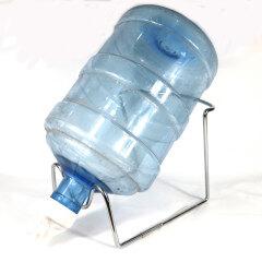 Metal Plated 3-5 Gallon Water Stand  Dispenser Valve  Stainless Steel Rack Holder Non Slip  5 gallon water bottle stand