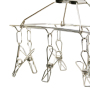 Baby Outdoor Pack Bra Belt Rotating White Metal Stainless Steel Wire Hanger
