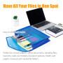 beautiful a3 custom pvc manila stick pressboard classification file folder with 13 pockets