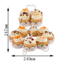 New products Gold wedding cake stand metal stand for cake wholesale