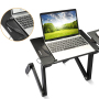 Aluminum Foldable Holder Laptop Desk Stand, Computer Table Adjustable Height Aluminium Adjustable Table Laptop Stand