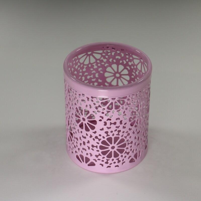 cup desktop organizer flower pattern Pencil Holder Office Stationery desk Storage pen container