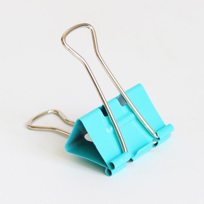 Logo Less Effort 41mm Multiple Color Large Metal Wire Paper Clamp Binder Clips