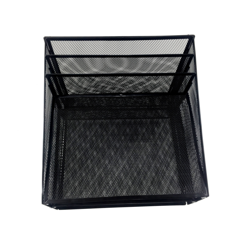 expandable letter tray document holder tray upright office metal mesh file organizer