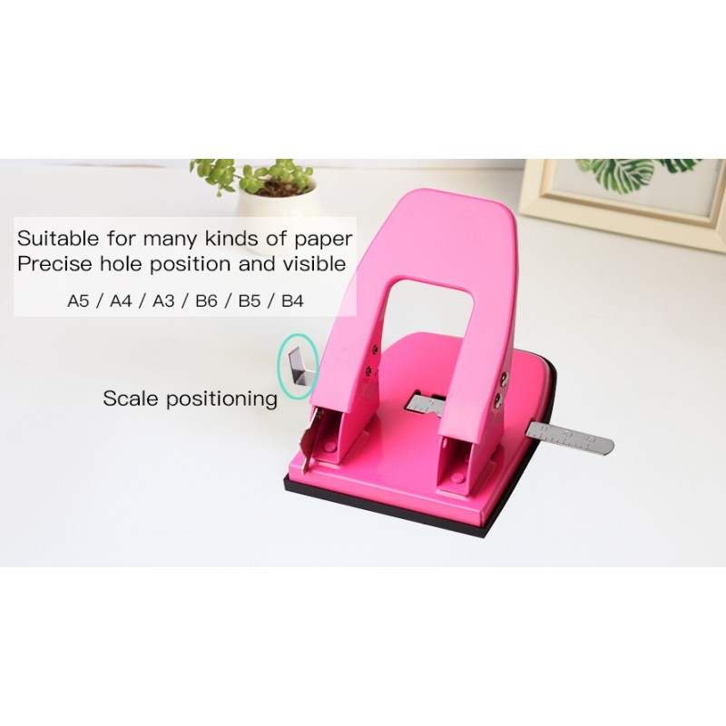 Custom Made Hand Held 2mm 4mm Paper Hole Punch for Plastic