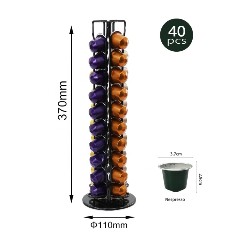 Home office coffee capsule holder nespresso wall capsule rack for office use