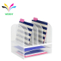 art middle U Shape Solid library metal wire multi-colorful cute bookends