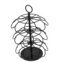 New Design  Powder Coated Color Box Home Office Supply Wire Metal 4 Tier 36 Capsule  Coffee Pod Holder