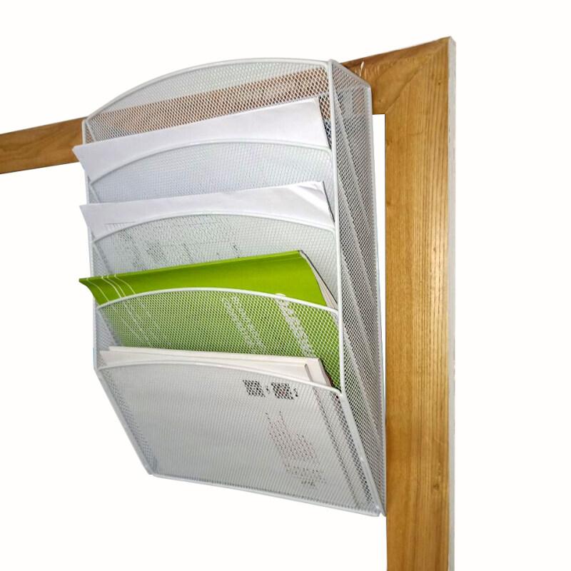 metal stackable vertical holder storage expandable mounted hanging file organizer
