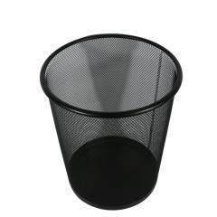 Different color office mesh metal garbage trash bin