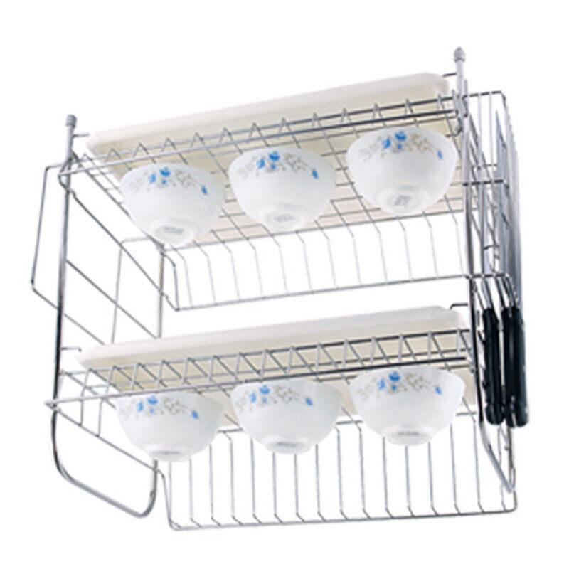 stainless steel kitchen plate rack utensil commercial dish rack