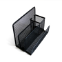 Office Home School Use Pen Holder Letter Holder Metal Mesh Desk Organizer Desk Paper Holder Letter Desk Organizer Office