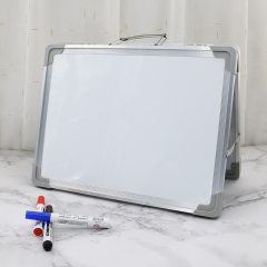 School Desktop Magnetic Foldable Portable Wall Mounted Dry Erase Whiteboard for Kids