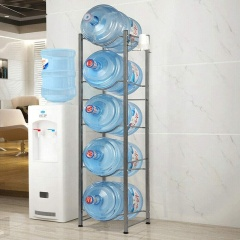 New Design office home Metal 5 Gallon Water Bottle Stand  Water Jug Holder Water Bottle Storage Rack