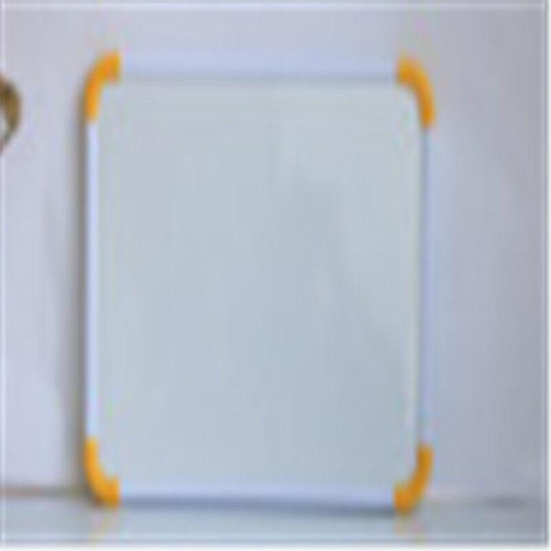 Aluminium Frame belt hook Double Side Kids Lapboard Magnetic White Board for 2 Inch Felt Erasers And Black Dry Erase