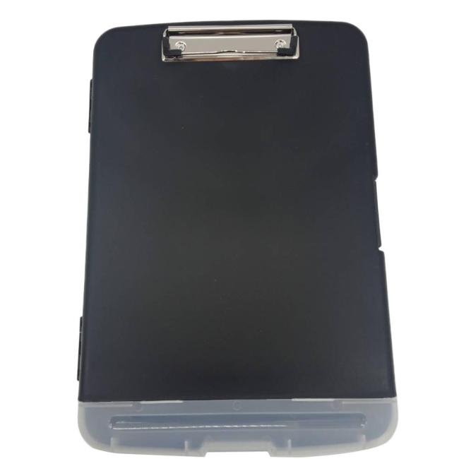 Office school home supply stationery eco-friendly pen pencil letter file  storage box clipboard with metal clip